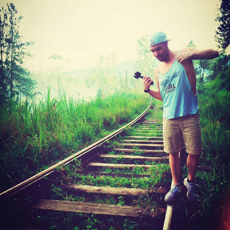 Railway Track Ella Walk