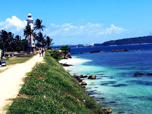 Galle Coast and Lighthouse