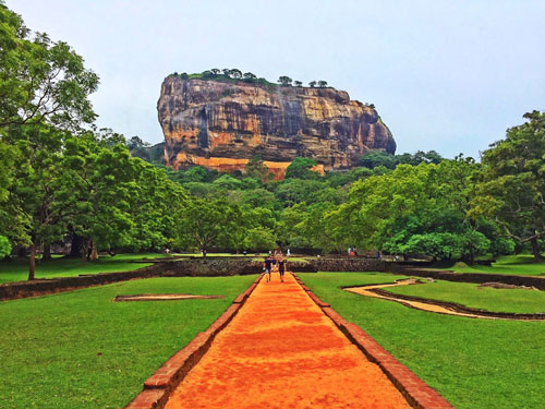 Sigiriya Rock Approach