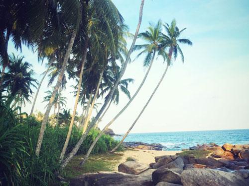 Goyamboka Beach Tangalle Rocks