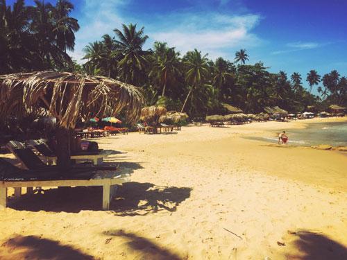 Goyamboka Beach Tangalle Sunbeds