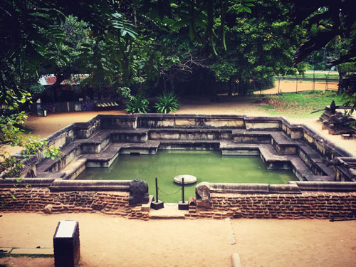 Temples of Sri Lanka - Royal Baths Polonnaruwa