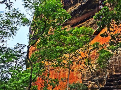 Sigiriya Rock Climbing Path