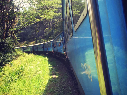 Kandy to Ella Train Ride Carriages