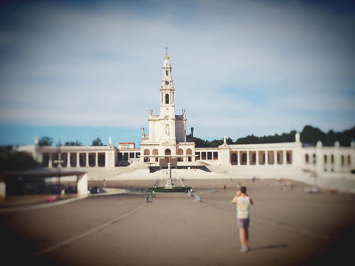 Overview of Fatima Complex the Portuguese Vaticane