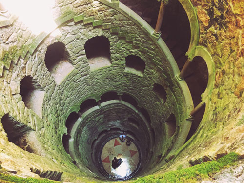 Iniciatic Well at Quinta da Regaleira