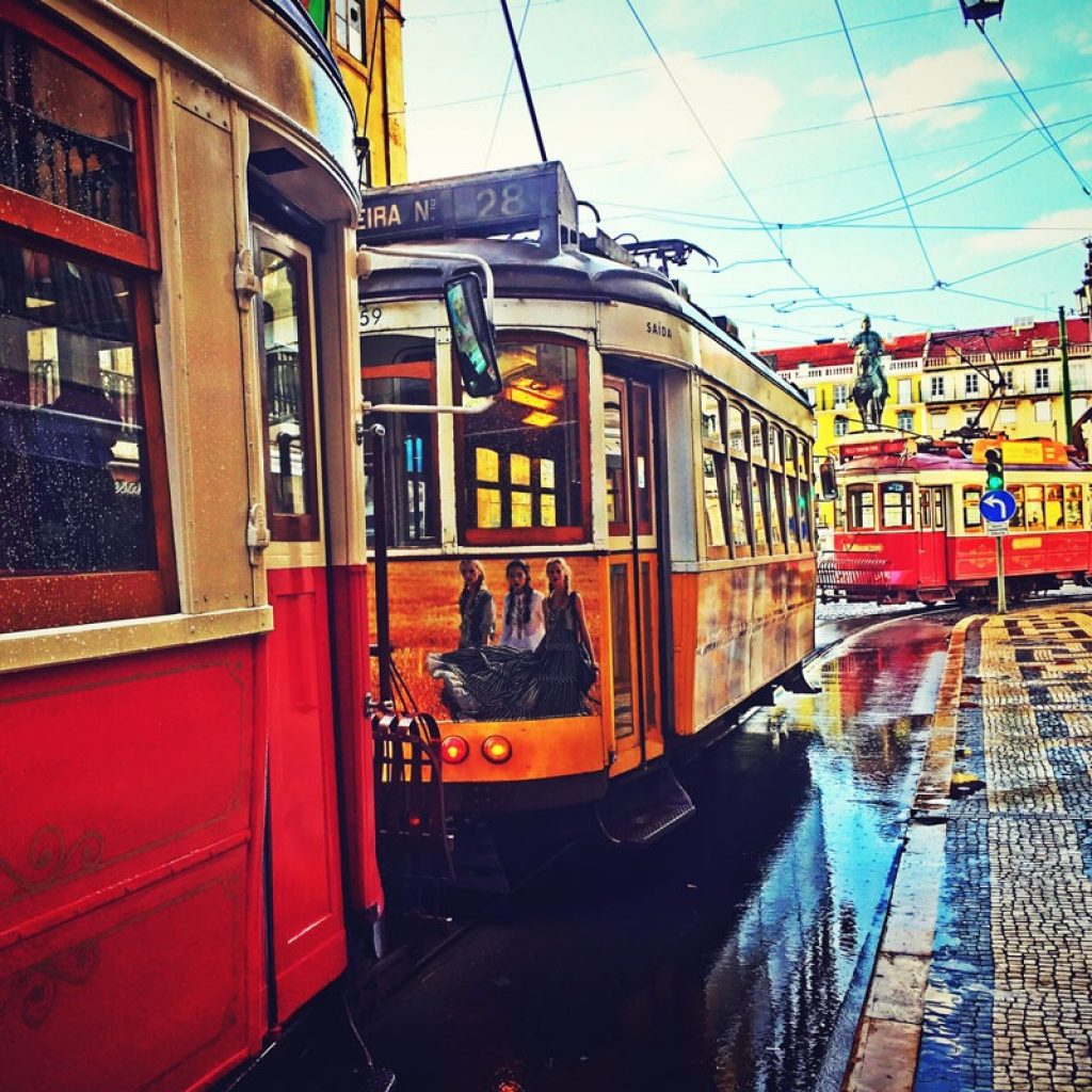 Things to Do in Lisbon in a Lisbon tramway