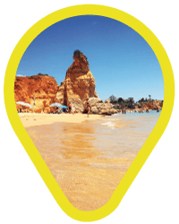 Sight Map Portugal Beaches