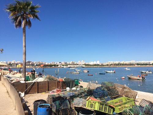 Harbor of Ferragudo, Algarve Portugal