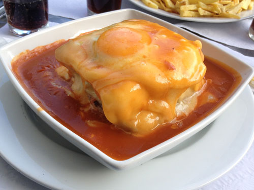 Francesinha from Porto